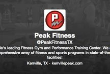 Connect with your favorite Kerrville, TX gym! / You can get health and fitness tips from Peak Fitness even when you're not at our gym! Not only are we on Pinterest, we're on Instagram, Facebook, Twitter, and Google+! Connect with us for exclusive-to-social tips and prizes!