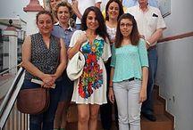 2014-Encuentro literario con Nerea Riesco. / El pasado jueves 5 de junio tuvo lugar en la Biblioteca  Municipal de Tocina el Encuentro Literario con la escritora Nerea Riesco.