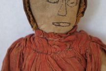 Antique cloth dolls