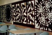 fence panels silhouettes and other fence designs