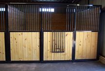 Rockin J Horse Stalls / Horse stalls by Rockin J. Because Rockin J is a custom manufacturing company, we can build your dream to your specifications. If you would like a quote today, give us a call 800-765-7229