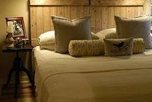 Rustic Wood In the bedroom