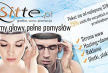 Sitte.pl / Firma Sitte.pl projektuje i tworzy interesujące strony internetowe i sklepy internetowe, grafikę reklamową i użytkową. Zajmuje się reklamą w wyszukiwarkach. Działa na terenie Lublina w Polsce ale zdalnie realizuje projekty także z terenu całego kraju i z zagranicy.