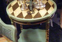 декор мебели, роспись