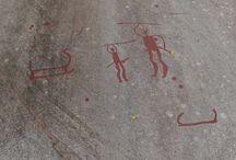 Rock carvings, Tanum / Rock carvings in Tanum, Sweden