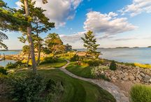 Tavern Island / An exquisite island retreat off the coast of Rowayton, CT with views of the Manhattan skyline.