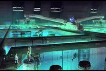 Concept Design - Environments: Sci Fi