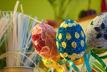 Easter quilling