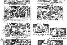 Comicbook, storyboard