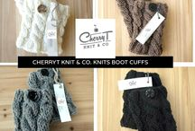knitted bootcuffs