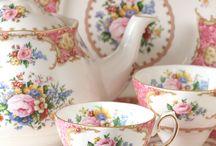 Royal Albert tea sets