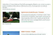Newsletter / La newsletter di Quantomanca con tante proposte per viaggiare con i bambini
