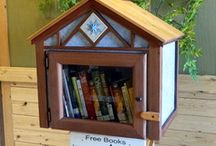 Free Little Library / Neighborhood,Take One Leave One Book Exchange / by Mar Schaeffer