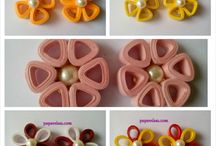 quilling naušnice