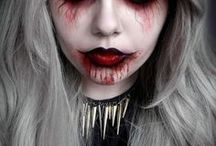 HALLOWEEN PARTY / Halloween party< DIY Make up