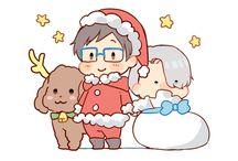 An Otaku Chirstmas / Have a Merry Christmas, fellow Otaku's of the World!
