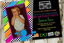 Event Theme: 80s birthday bash / 80s birthday bash party ideas. Surprise totally awesome bachelorette, hen party, retirement, anniversary. Dress your 80s best
