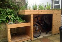 cycling shed