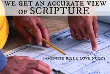 I munite Bible notes
