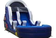 Inflatable Slides / Inflatable Slides- from small slides to large water slides.