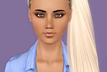 Sims Hair / Cool hair for sims / by Bethany Posey
