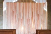 Backdrops / Backdrops for ceremony, reception, photo booth and more. / by Dandie Andie Floral Designs