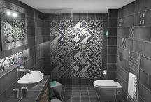 ΣΕ ΥΦΟΣ INDUSTRIAL / Σχεδιασμός και ανακαίνιση μπάνιου στην Θεσσαλονίκη. Ο χώρος έχει διάσταση 1,80 x 2.60 m και το τελικό ύψος είναι 2,00 m.