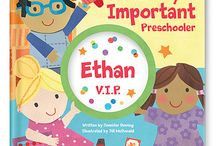 "Very Important Preschooler- VIP / Being a ""V.I.P."" means sharing, making new friends, learning new things, helping out and more! / by I See Me! Personalized Children's Books"