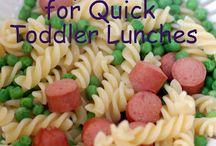 Easy Toddler food ideas :)