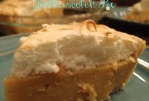 Butter scotch pie
