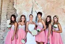 Bridesmaids dresses..