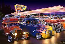 car toonsSchilderijen