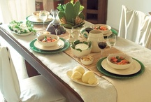 {Table Setting/Party Set up} / Buffets, food displays and wonderful ideas for party themes! / by Eva DysDaimon