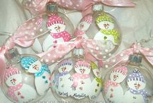 Ornaments to paint