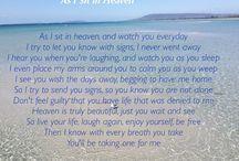 Weeping widow / Messages of encouragement