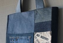 Upcycling Jeans Taschen