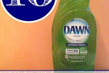 Uses for Dawn Dish soap