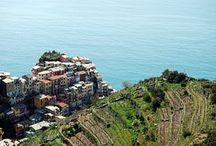 #CINQUE TERRE / Increiblemente bellos estos pueblecitos italianos.