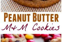 Cookies peanut butter m&m