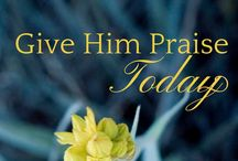 Devotionals / Lean into Him and He'll live more fully through you.