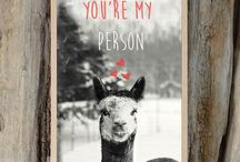 Alpaca Cards / It's no secret of a fondness for Alpacas with these beautiful cards!