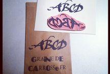Tampons Graine de Carrosse / Handcarved stamp