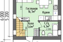 планировки маленьких домов