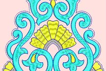 sutache wzory - rysunki