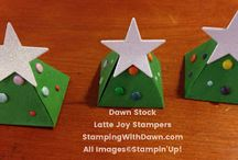 Pyramid Pals - Stampin Up