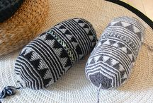 Knit and crochet for the home