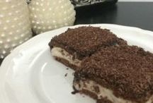 cikolata soslu biskuili tatli