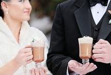 a winter wedding.