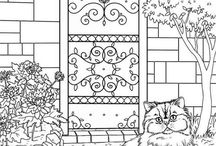 Colouring printables