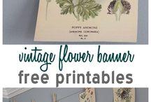 Free printables / by Bonnie Thompson